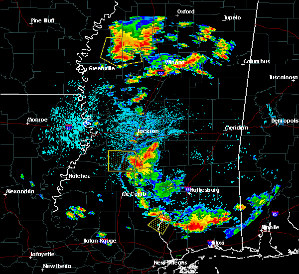 Radar Image for Severe Thunderstorms near Ruleville, MS at 6/24/2015 3:36 PM CDT