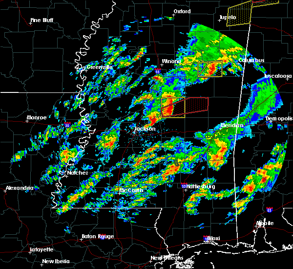 Radar Image for Severe Thunderstorms near Pearl River, MS at 2/5/2020 5:39 PM CST