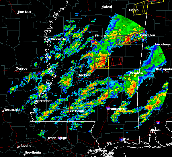 Radar Image for Severe Thunderstorms near Pearl River, MS at 2/5/2020 5:48 PM CST