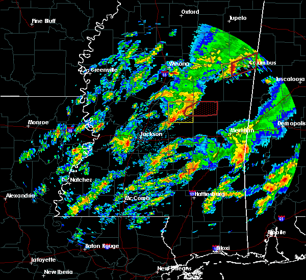 Radar Image for Severe Thunderstorms near Pearl River, MS at 2/5/2020 6:00 PM CST