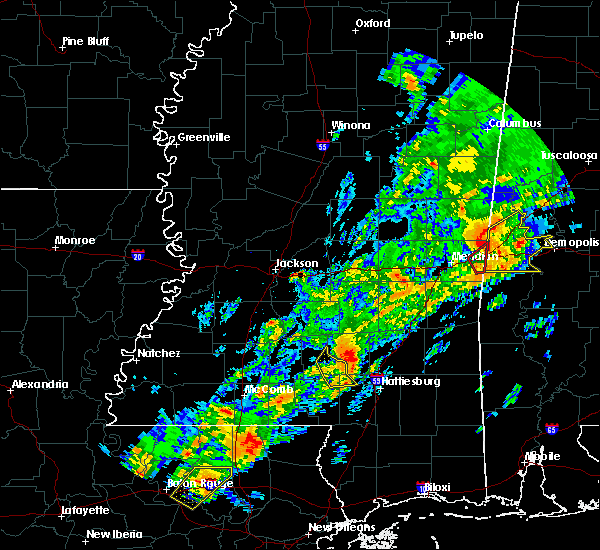 Radar Image for Severe Thunderstorms near Soso, MS at 2/6/2020 12:03 AM CST