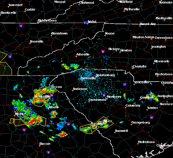 Radar Image for Severe Thunderstorms near Valley Hill, NC at 6/24/2015 4:42 PM EDT