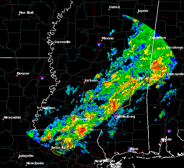 Radar Image for Severe Thunderstorms near Soso, MS at 2/6/2020 12:19 AM CST