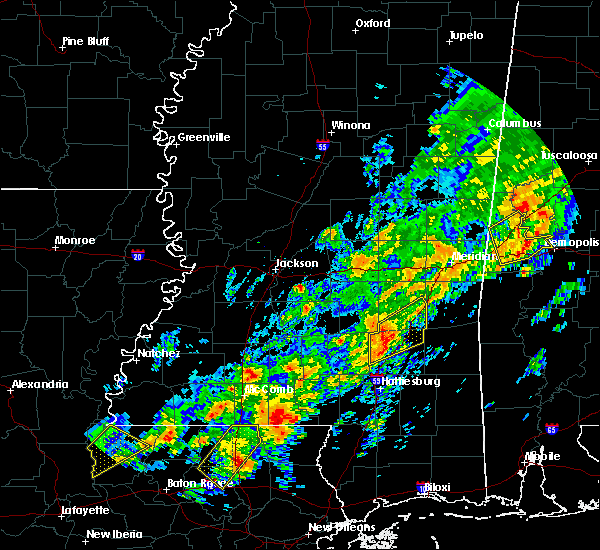 Radar Image for Severe Thunderstorms near Soso, MS at 2/6/2020 12:27 AM CST
