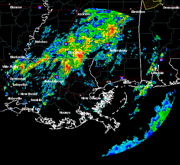 Radar Image for Severe Thunderstorms near Independence, LA at 2/6/2020 12:30 AM CST
