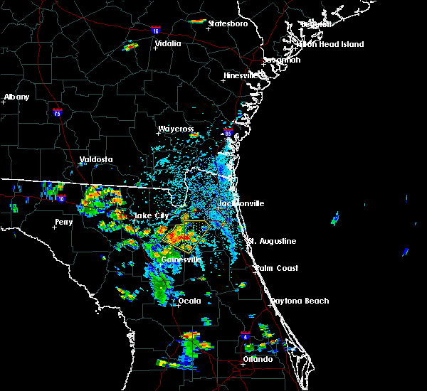 Radar Image for Severe Thunderstorms near Asbury Lake, FL at 6/24/2015 4:45 PM EDT