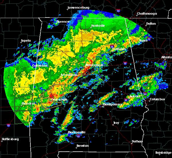 Radar Image for Severe Thunderstorms near Demopolis, AL at 2/6/2020 2:21 AM CST