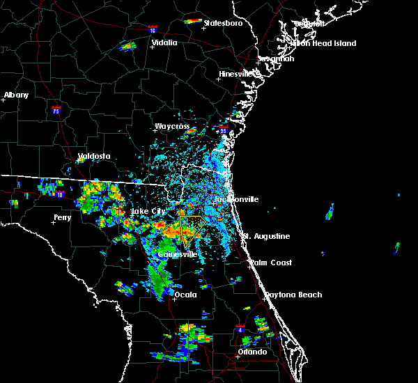 Radar Image for Severe Thunderstorms near Asbury Lake, FL at 6/24/2015 4:52 PM EDT