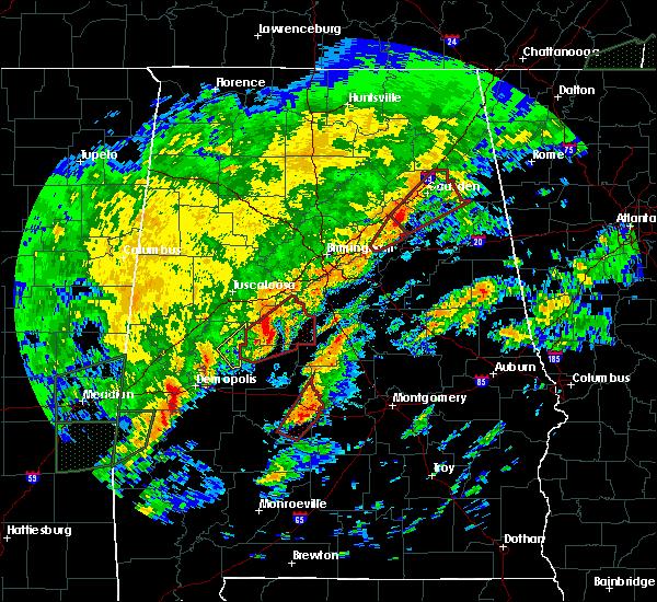 Radar Image for Severe Thunderstorms near Bellamy, AL at 2/6/2020 3:01 AM CST