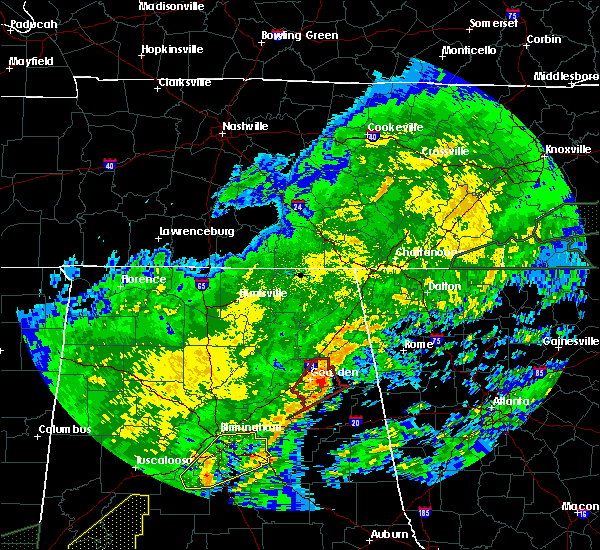 Radar Image for Severe Thunderstorms near Ballplay, AL at 2/6/2020 3:25 AM CST