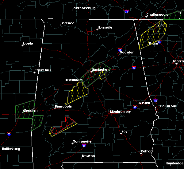 Radar Image for Severe Thunderstorms near Thomasville, AL at 2/6/2020 4:03 AM CST