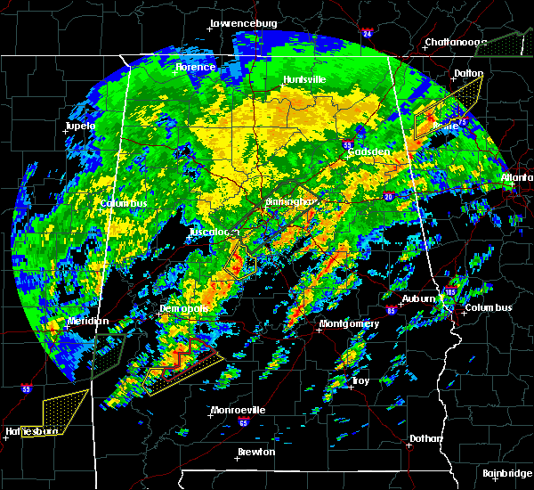 Radar Image for Severe Thunderstorms near Centreville, AL at 2/6/2020 4:07 AM CST