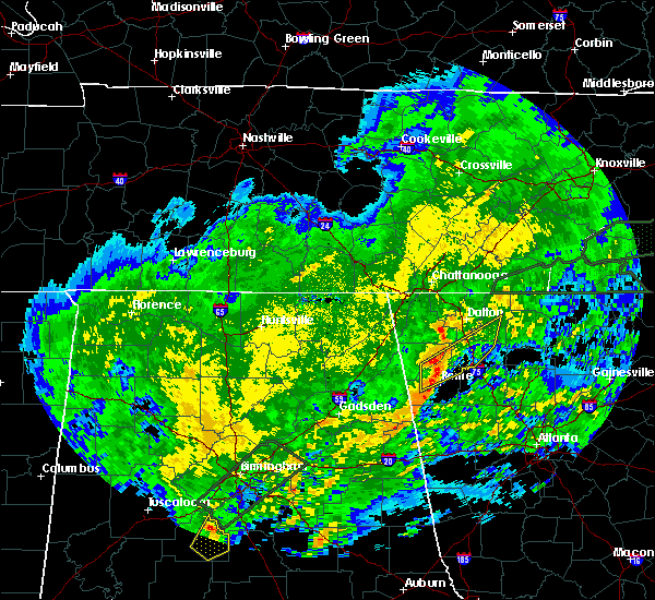 Radar Image for Severe Thunderstorms near Calhoun, GA at 2/6/2020 5:07 AM EST