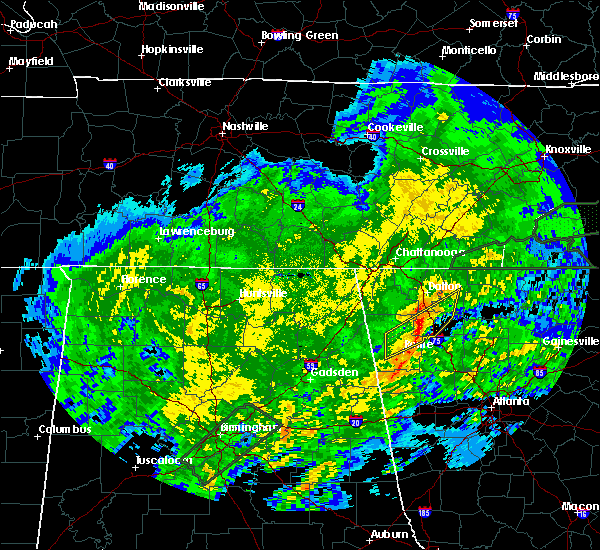 Radar Image for Severe Thunderstorms near Calhoun, GA at 2/6/2020 5:20 AM EST