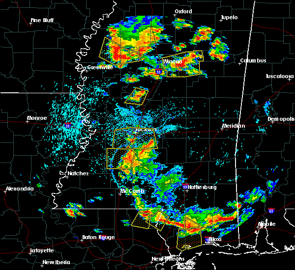 Radar Image for Severe Thunderstorms near Brandon, MS at 6/24/2015 3:55 PM CDT