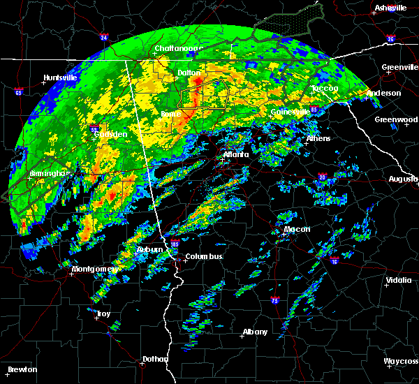 Radar Image for Severe Thunderstorms near Graham, AL at 2/6/2020 4:44 AM CST