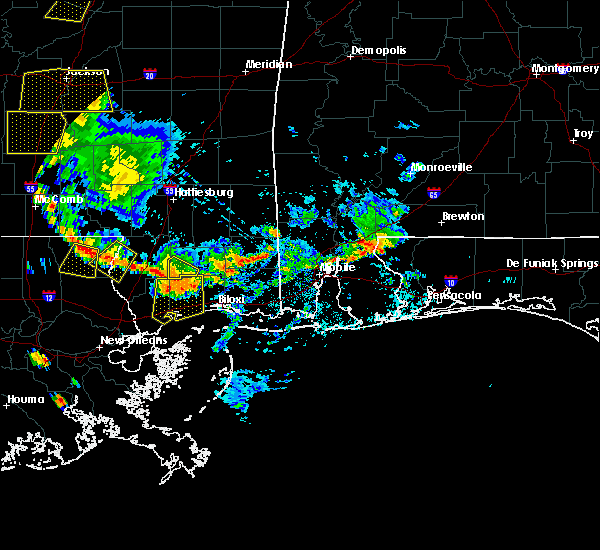 Radar Image for Severe Thunderstorms near Spanish Fort, AL at 6/24/2015 3:59 PM CDT
