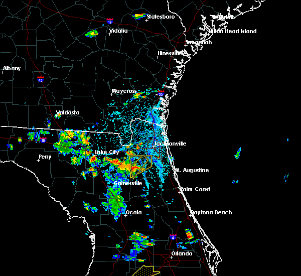 Radar Image for Severe Thunderstorms near Asbury Lake, FL at 6/24/2015 5:02 PM EDT