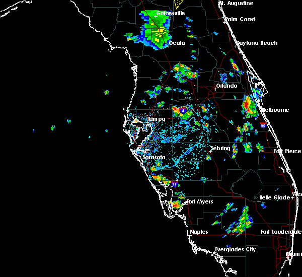 Radar Image for Severe Thunderstorms near Four Corners, FL at 6/24/2015 5:01 PM EDT