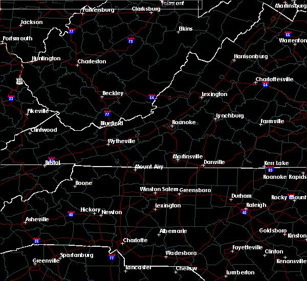 Radar Image for Severe Thunderstorms near Wallburg, NC at 2/6/2020 11:39 AM EST