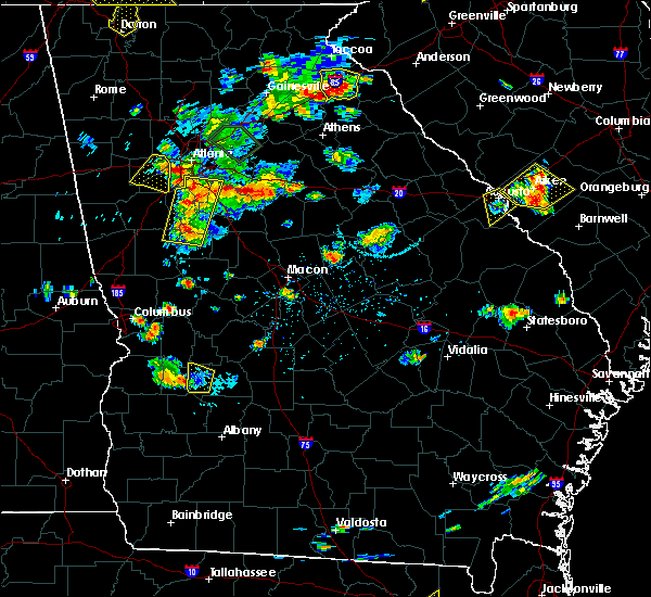 Radar Image for Severe Thunderstorms near Ivey, GA at 6/24/2015 5:08 PM EDT