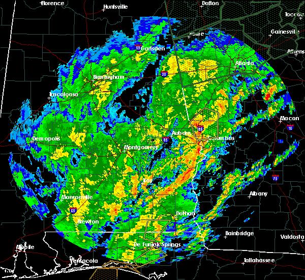 Radar Image for Severe Thunderstorms near Columbus, GA at 2/6/2020 12:08 PM EST