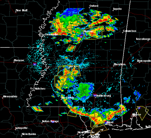 Radar Image for Severe Thunderstorms near Ruleville, MS at 6/24/2015 4:09 PM CDT