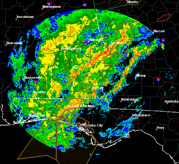 Radar Image for Severe Thunderstorms near Richland, GA at 2/6/2020 12:37 PM EST