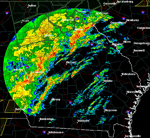 Radar Image for Severe Thunderstorms near Siloam, GA at 2/6/2020 12:39 PM EST