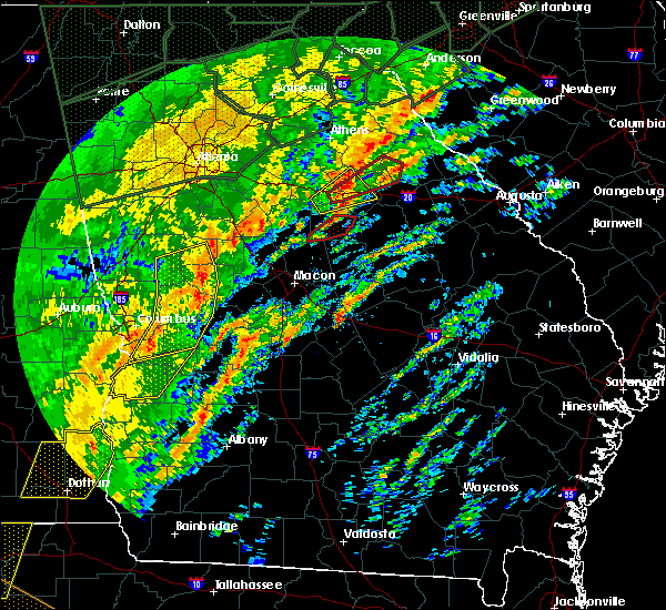 Radar Image for Severe Thunderstorms near Woodville, GA at 2/6/2020 12:48 PM EST
