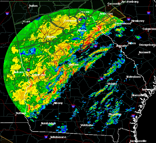Radar Image for Severe Thunderstorms near Siloam, GA at 2/6/2020 1:10 PM EST
