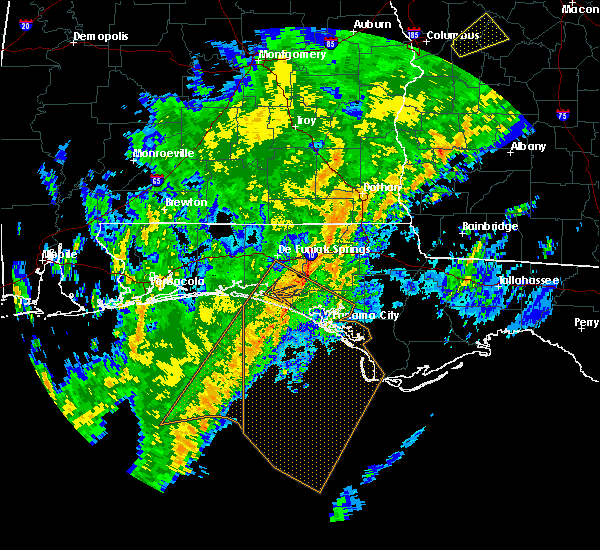 Radar Image for Severe Thunderstorms near Jacob City, FL at 2/6/2020 12:25 PM CST