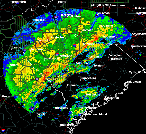 Radar Image for Severe Thunderstorms near Chapin, SC at 2/6/2020 3:26 PM EST
