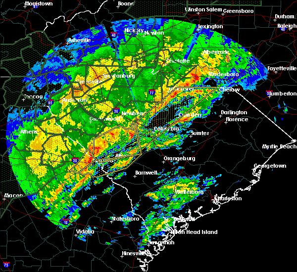 Radar Image for Severe Thunderstorms near Johnston, SC at 2/6/2020 3:26 PM EST