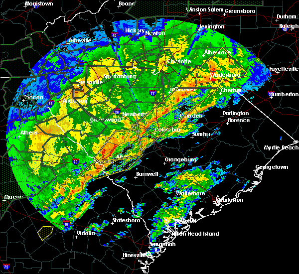 Radar Image for Severe Thunderstorms near Waynesboro, GA at 2/6/2020 3:41 PM EST