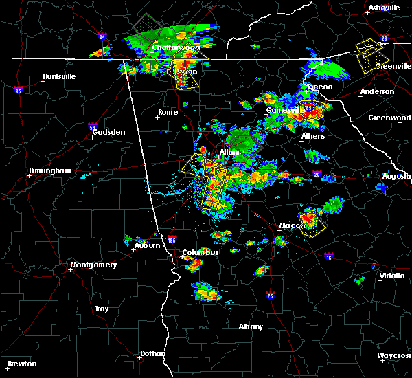 Radar Image for Severe Thunderstorms near Austell, GA at 6/24/2015 5:19 PM EDT