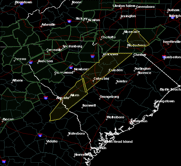 Radar Image for Severe Thunderstorms near Waynesboro, GA at 2/6/2020 4:04 PM EST