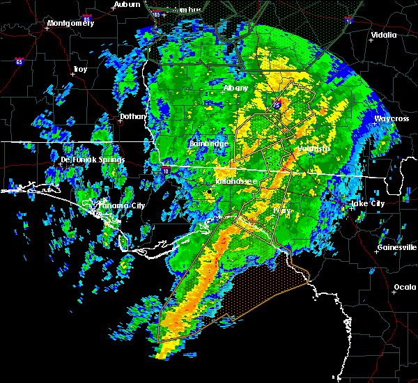 Radar Image for Severe Thunderstorms near Perry, FL at 2/6/2020 6:33 PM EST