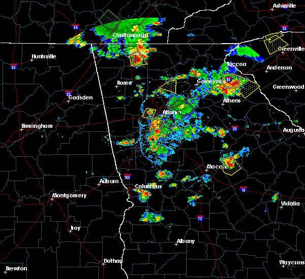 Radar Image for Severe Thunderstorms near Canton, GA at 6/24/2015 5:38 PM EDT