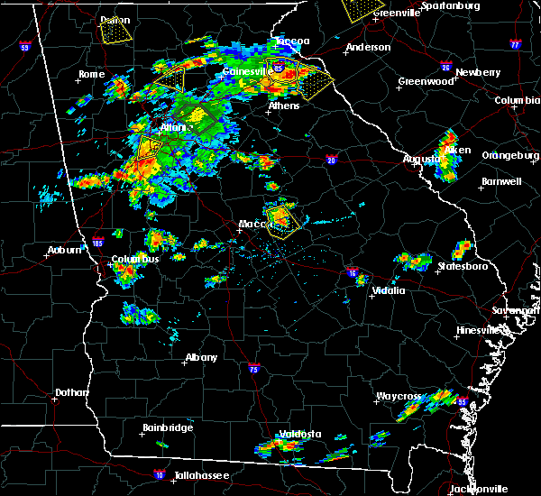 Radar Image for Severe Thunderstorms near Ivey, GA at 6/24/2015 5:44 PM EDT