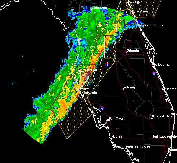 Radar Image for Severe Thunderstorms near Whitfield, FL at 2/6/2020 11:20 PM EST