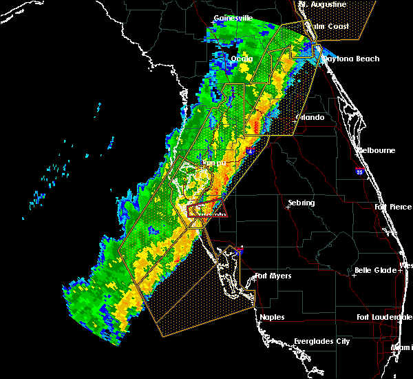 Radar Image for Severe Thunderstorms near Avon Park, FL at 2/6/2020 11:47 PM EST