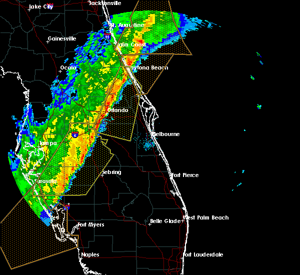 Radar Image for Severe Thunderstorms near Avon Park, FL at 2/7/2020 12:23 AM EST