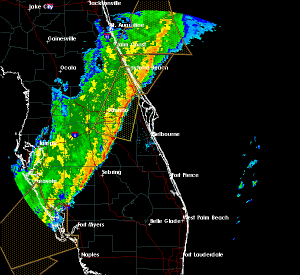Radar Image for Severe Thunderstorms near Cocoa West, FL at 2/7/2020 12:57 AM EST