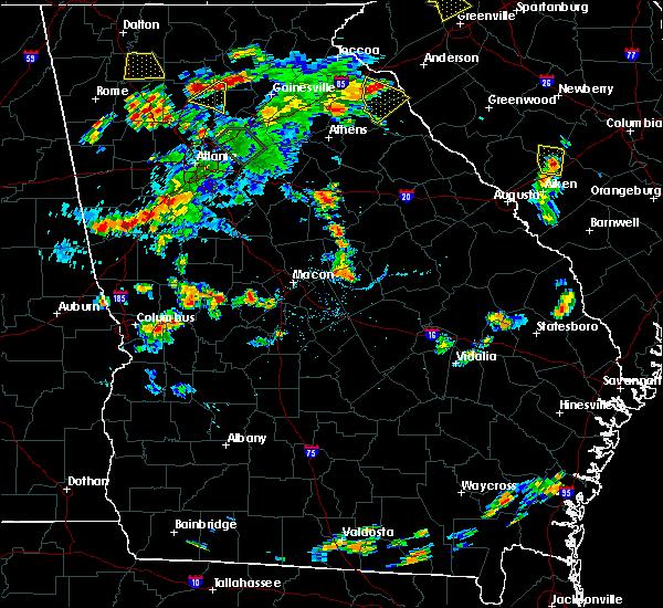 Radar Image for Severe Thunderstorms near Salem, GA at 6/24/2015 5:52 PM EDT
