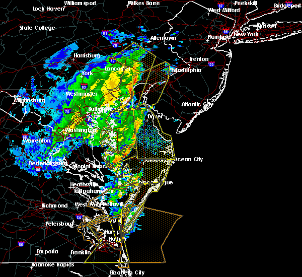Radar Image for Severe Thunderstorms near Fairmount, MD at 2/7/2020 9:41 AM EST