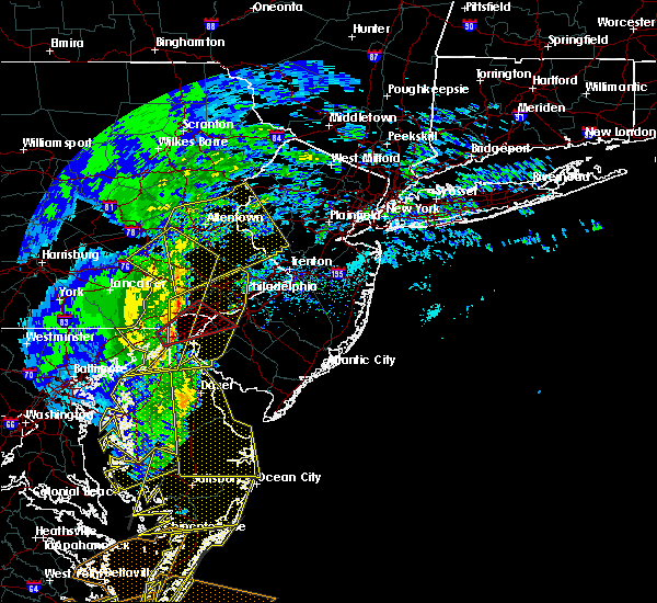 Radar Image for Severe Thunderstorms near Fullerton, PA at 2/7/2020 9:46 AM EST