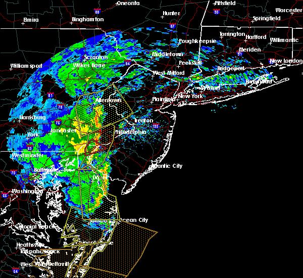Radar Image for Severe Thunderstorms near Wilmington, DE at 2/7/2020 10:05 AM EST