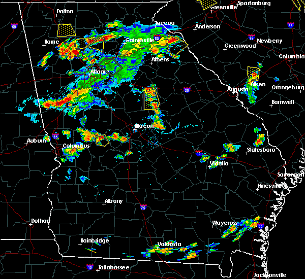 Radar Image for Severe Thunderstorms near Crooked Creek, GA at 6/24/2015 6:00 PM EDT