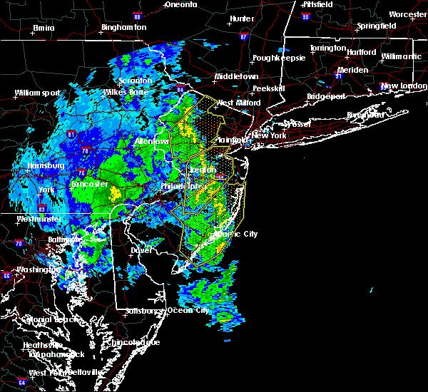 Radar Image for Severe Thunderstorms near Englishtown, NJ at 2/7/2020 11:04 AM EST